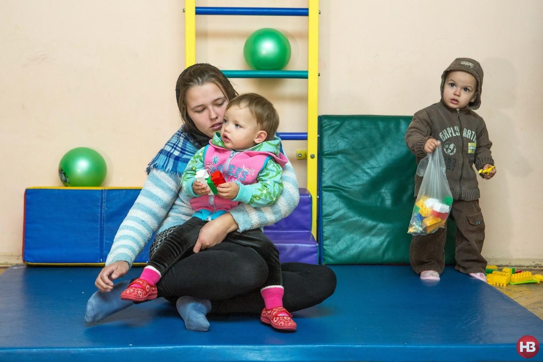 Заключенная Наташа и ее дочь Арина