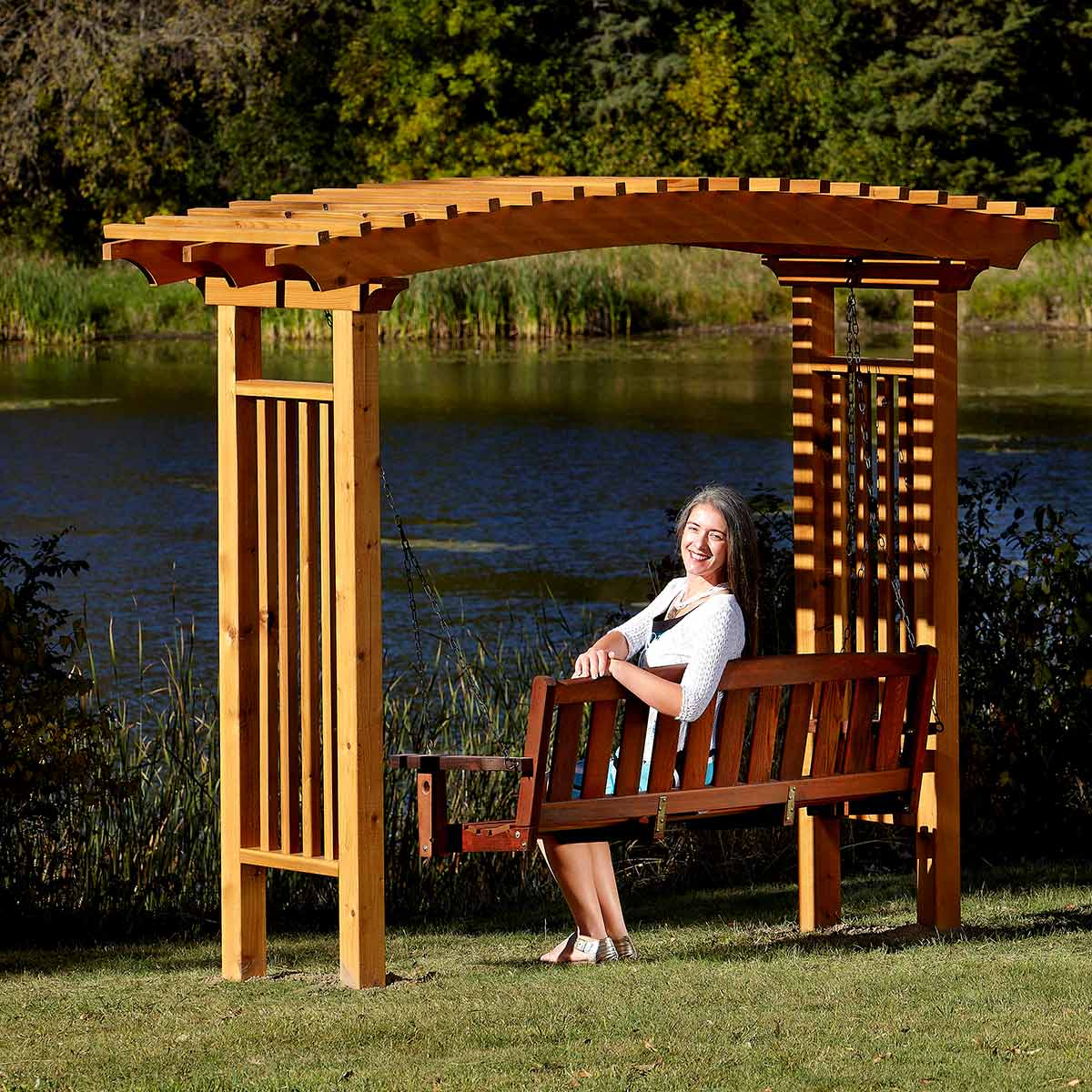 Garden Arbor: These projects will help you transform your space.