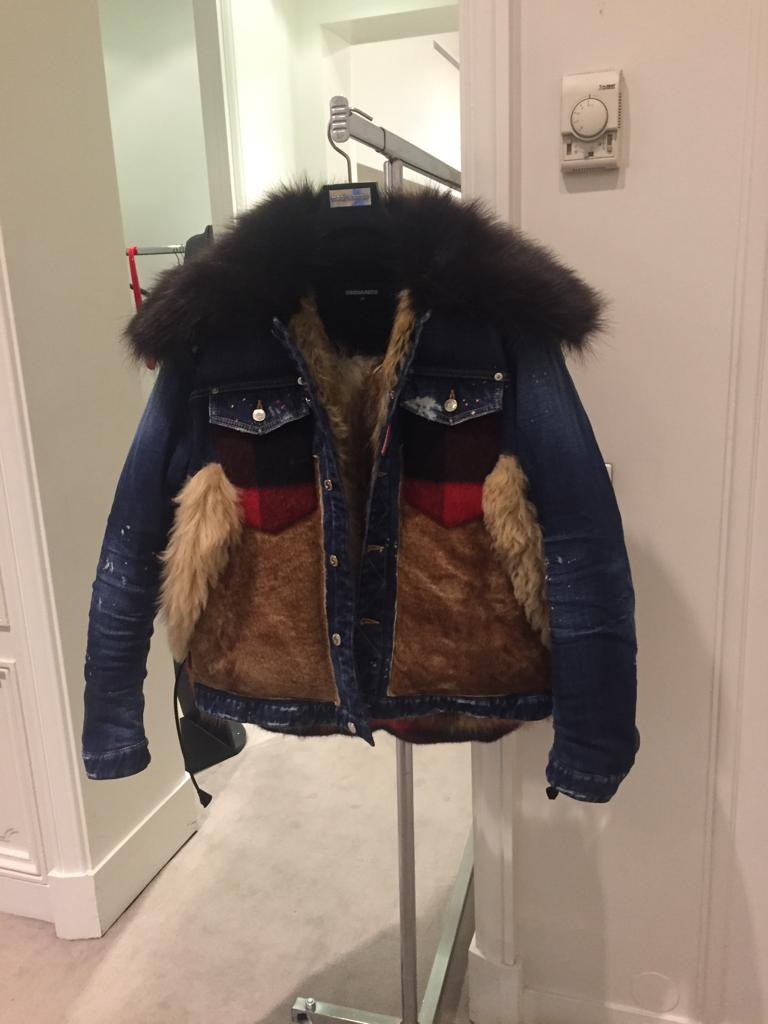 dsquared2 western style ladies jacket