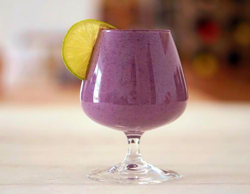 Api Morado. Bolivian Food and Recipes. Hot Purple Corn Drink.