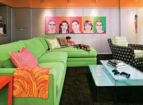 phong cách thiết kế nội thất retro style