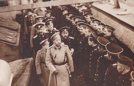 Русский царь на флоте