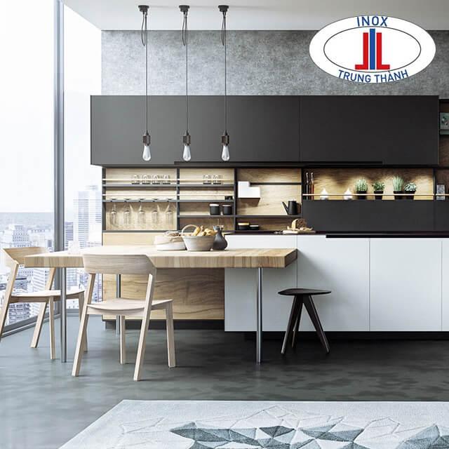 phòng bếp đẹp 2019