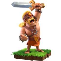 Clash of Clans Super Barbarian