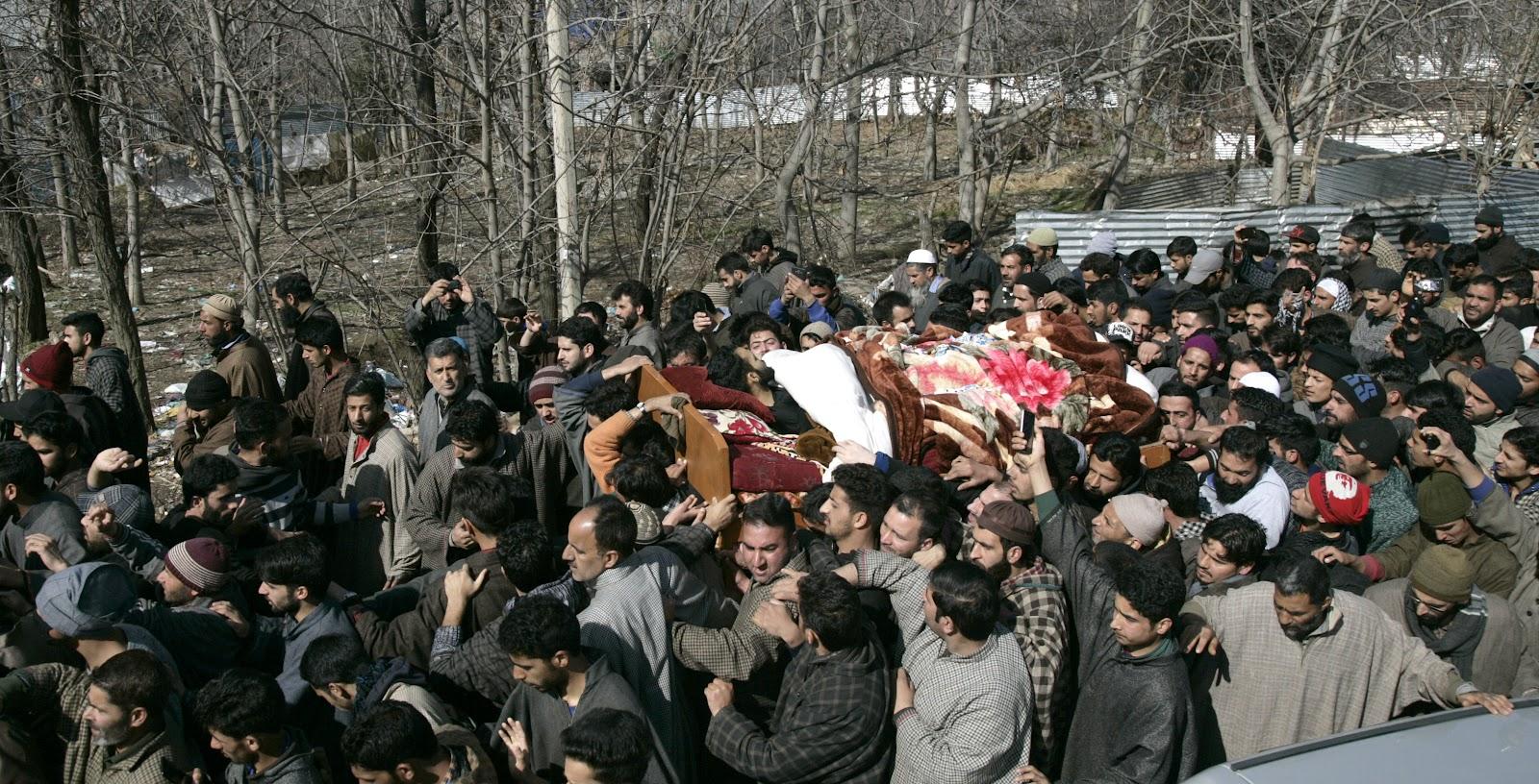 Image result for Shopian deaths hit life in Kashmir Valley