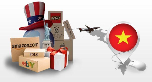 Dịch vụ mua hàng hộ và vận chuyển hàng về Việt Nam