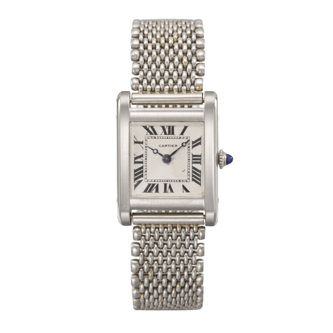 Photo of a Cartier Tank Normale watch