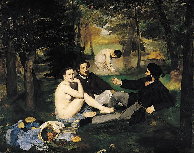 The Luncheon on the Grass, 1863 - Edouard Manet