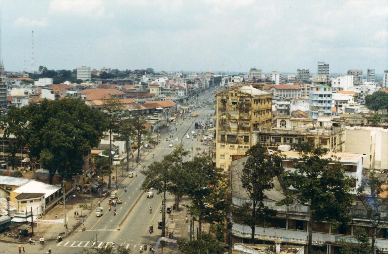 60 tấm ảnh màu đẹp nhất của đường phố Saigon thập niên 1960-1970 - 57
