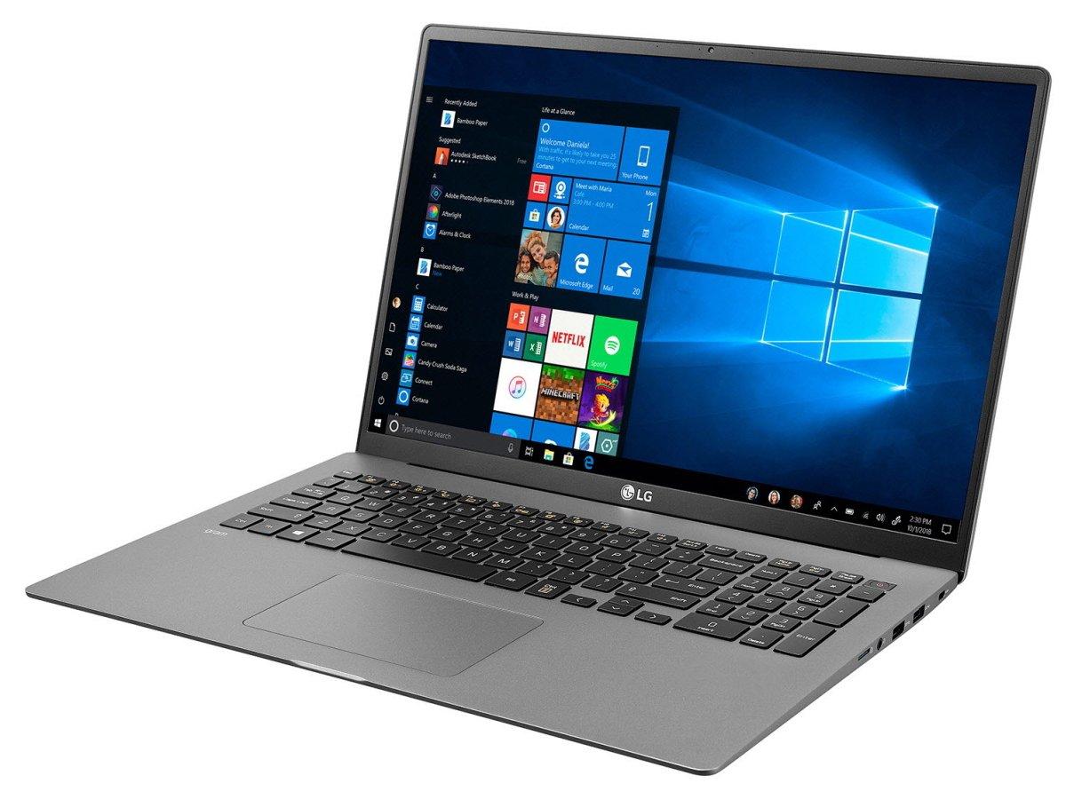 Imagem de Notebook da marca LG do modelo Gram 17Z90N-V