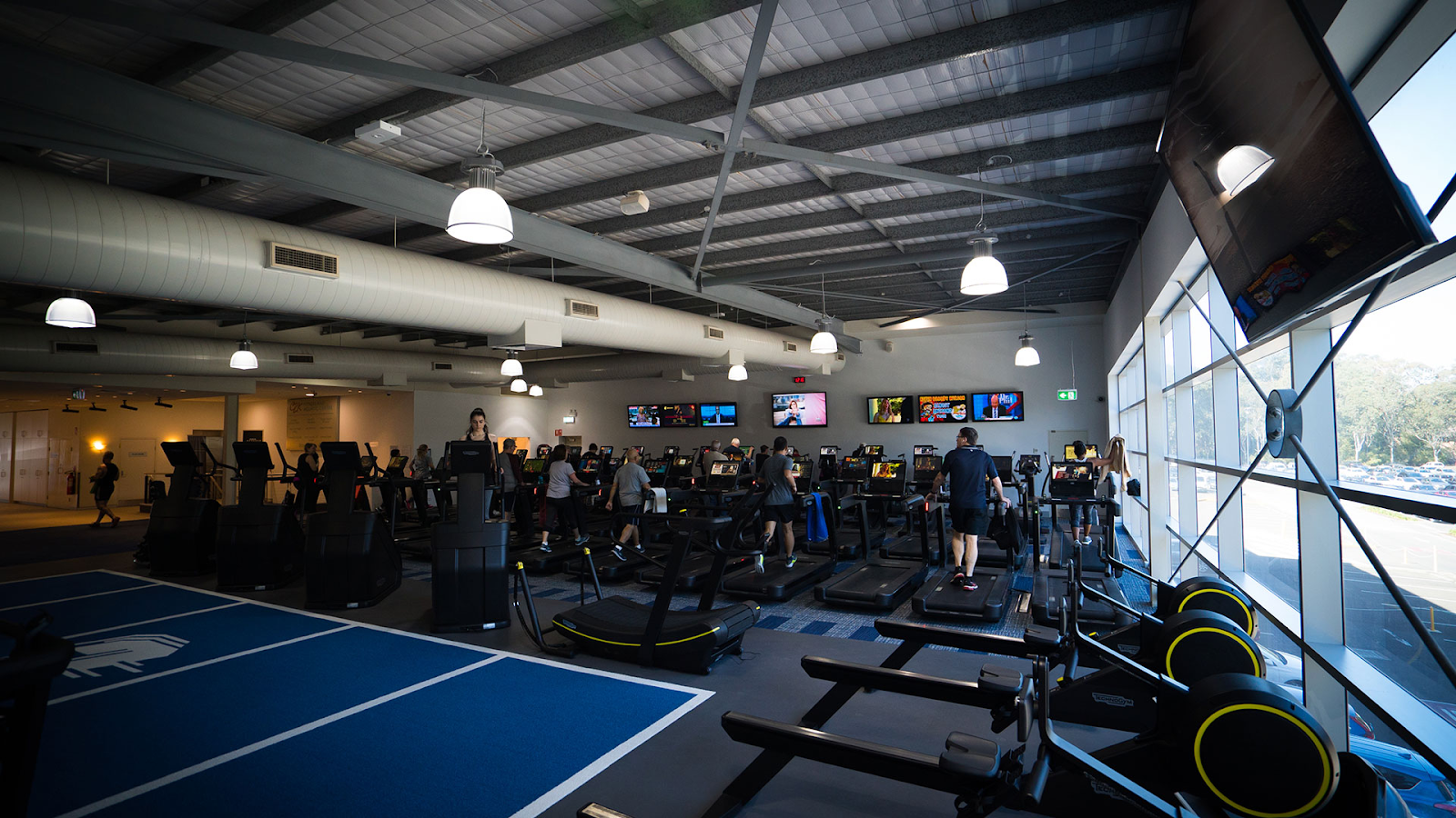 Castle Hill Fitness' gym equipment, one of the best places to work out in Austin.