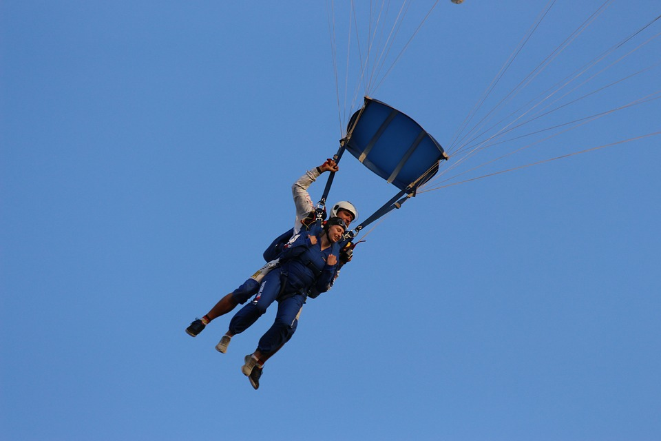 Skydiving with a disability