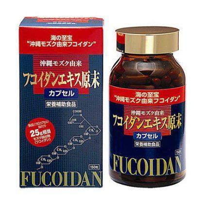 Kết quả hình ảnh cho Fucoidan nhật bản