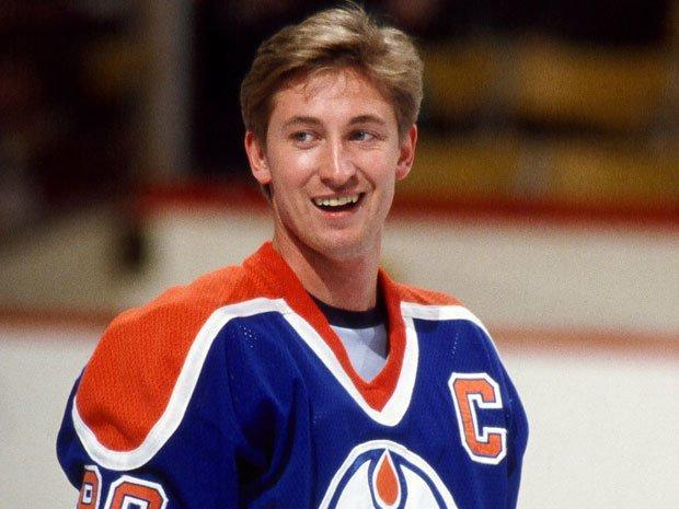 Wayne Gretzky dominant in Hockey