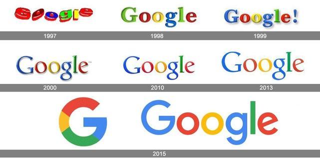 Lịch sử biểu trưng của Google