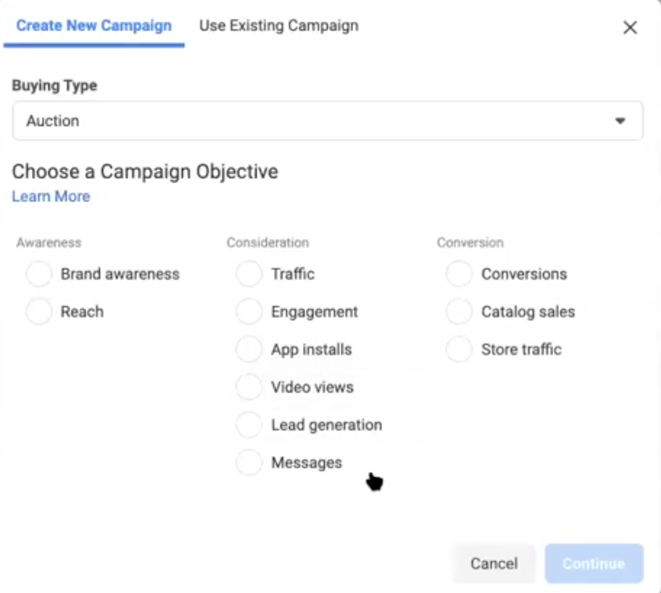 How to create a campaign on Facebook