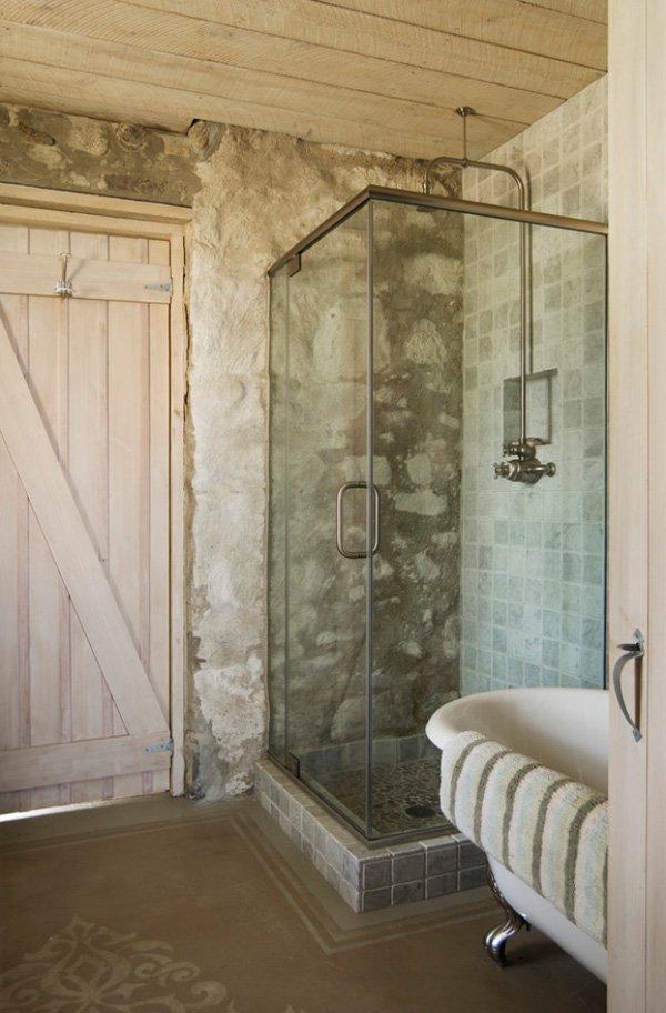 Pisos Para Baños Rusticos Modernos:Dosis Arquitectura: Baños rústicos Increíblemente hermosos