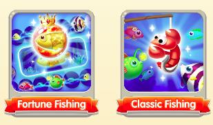 Fishing Master fishing mode