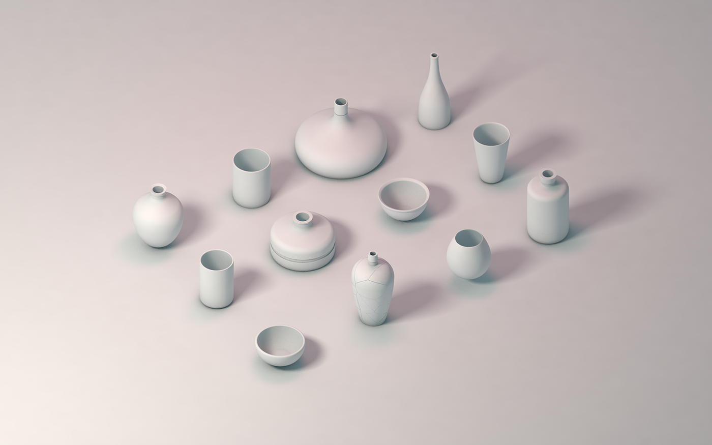 Ceramic Therapy in 3D using Cinema 4D