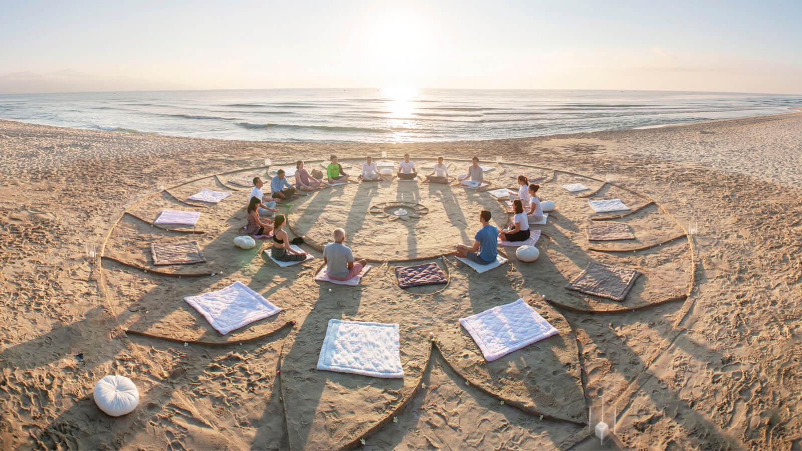 Yoga trên bãi biển