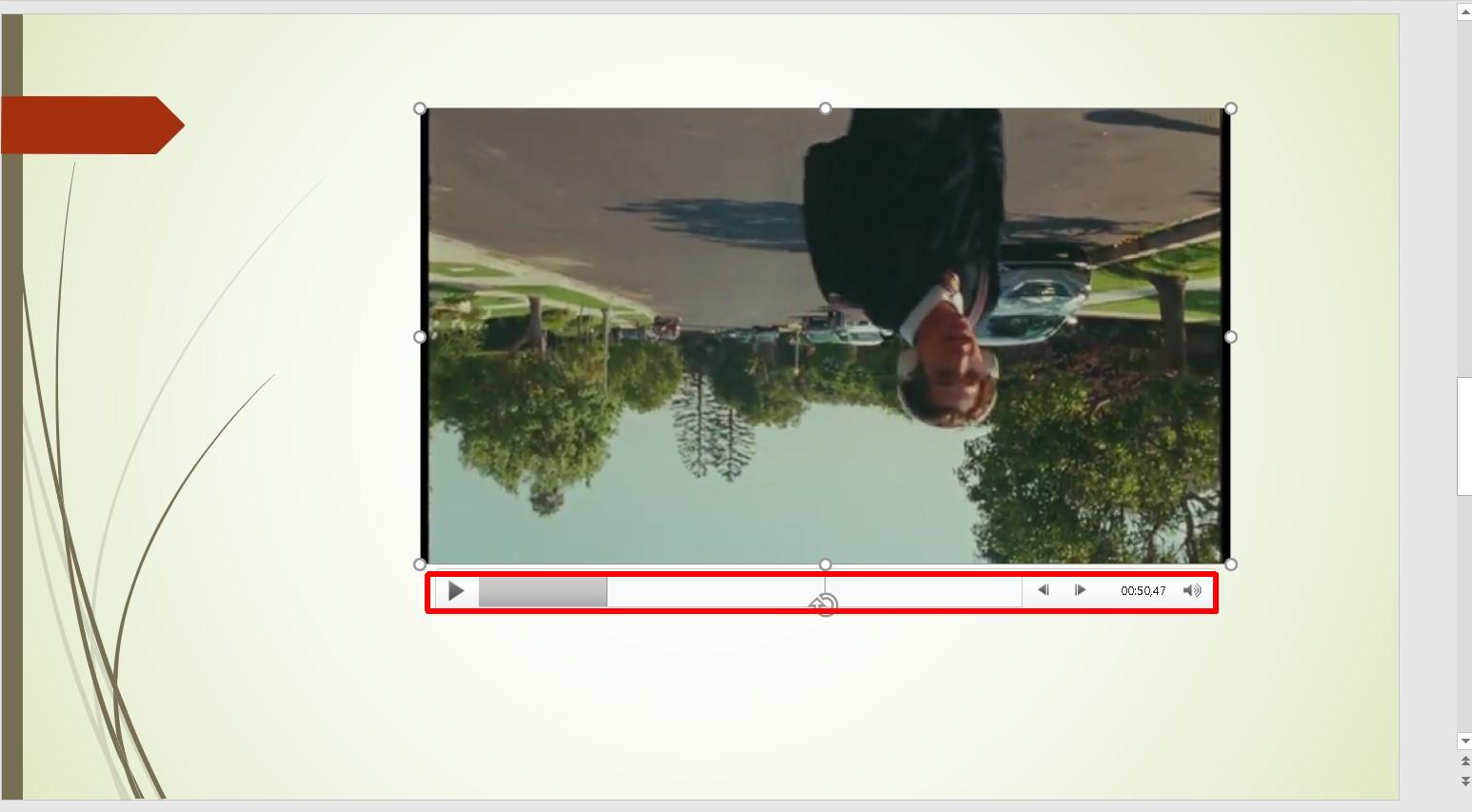 управление видео в powerpoint