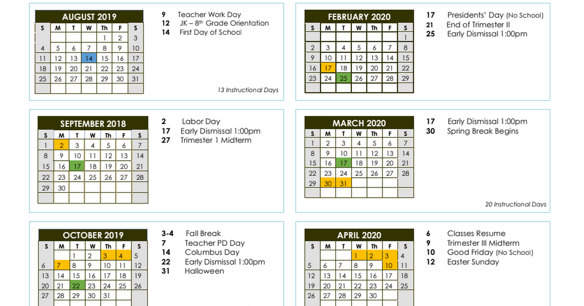 Spps Calendar.2019 2020 Spps Academic Calendar Pdf Google Drive