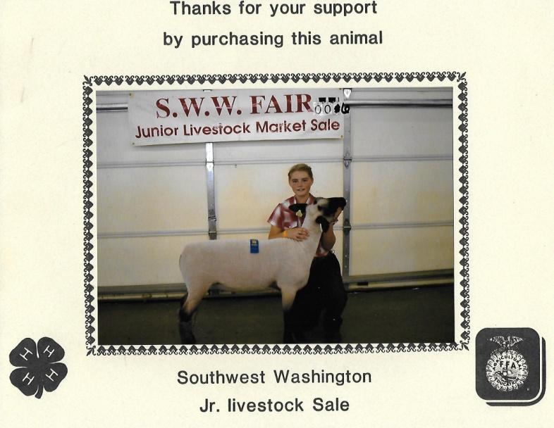 C:\Users\Maureen\Documents\Farm Bureau\AgEd-Scholarship\Sophia Wiley lamb.jpg