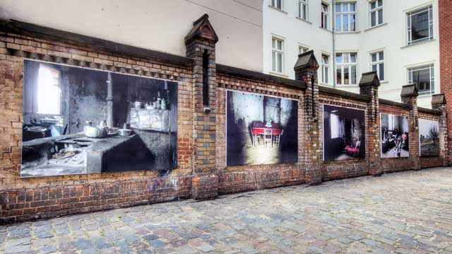 Murales en la Auguststrasse - Berlin Mitte
