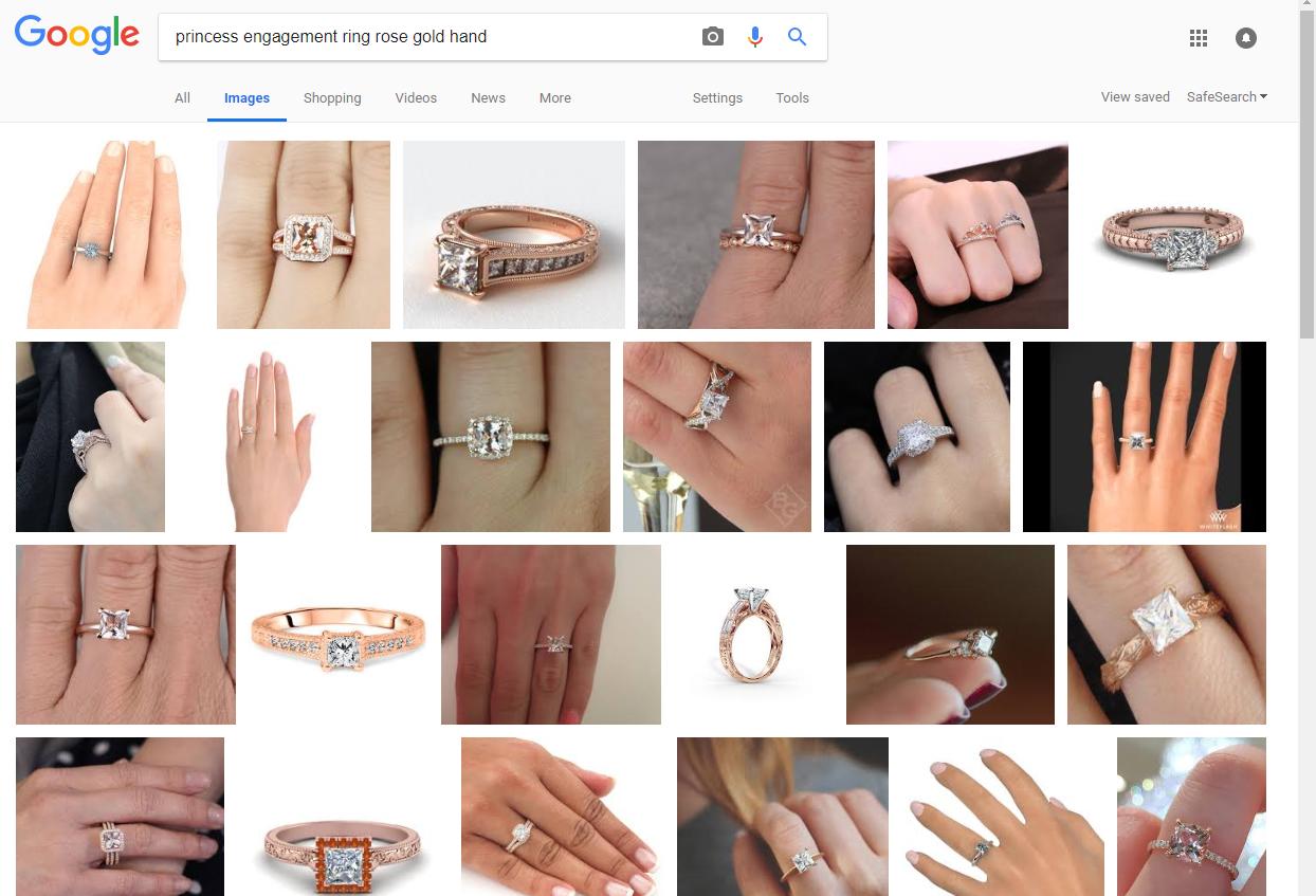 Shopping Tipps: Visualisieren Sie den Verlobungsring auf ihrer Hand