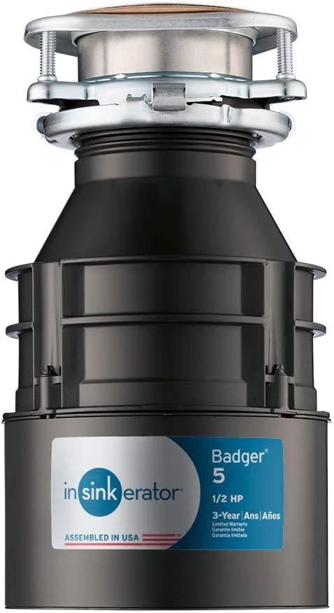 INSINKERATOR BADGER 5 - best garbage disposal unit