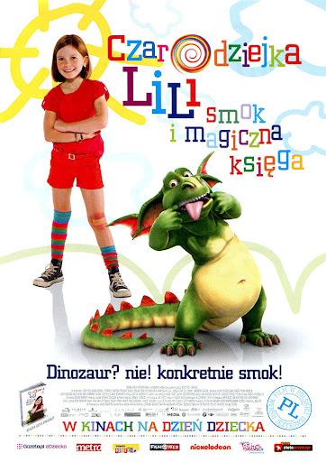 Przód ulotki filmu 'Czarodziejka Lili: Smok i Magiczna Księga'