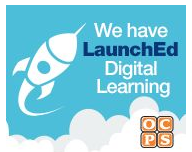 We have LaunchEd for Digital Learning Logo