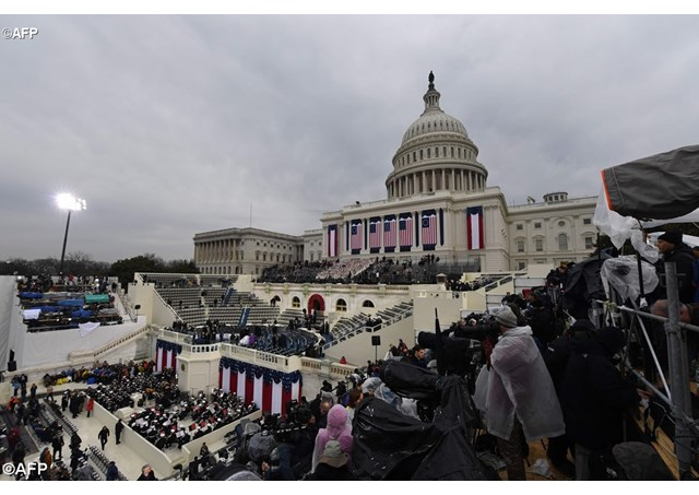 Preparations for the inauguration of U.S. President Donald Trump on Friday January 20th in Washington D.C. - AFP