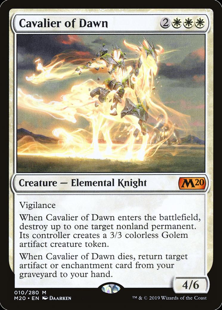 Cavalier of Dawn MTG Card