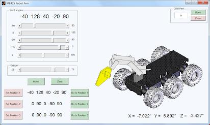 Robot Arm: MATLAB GUI