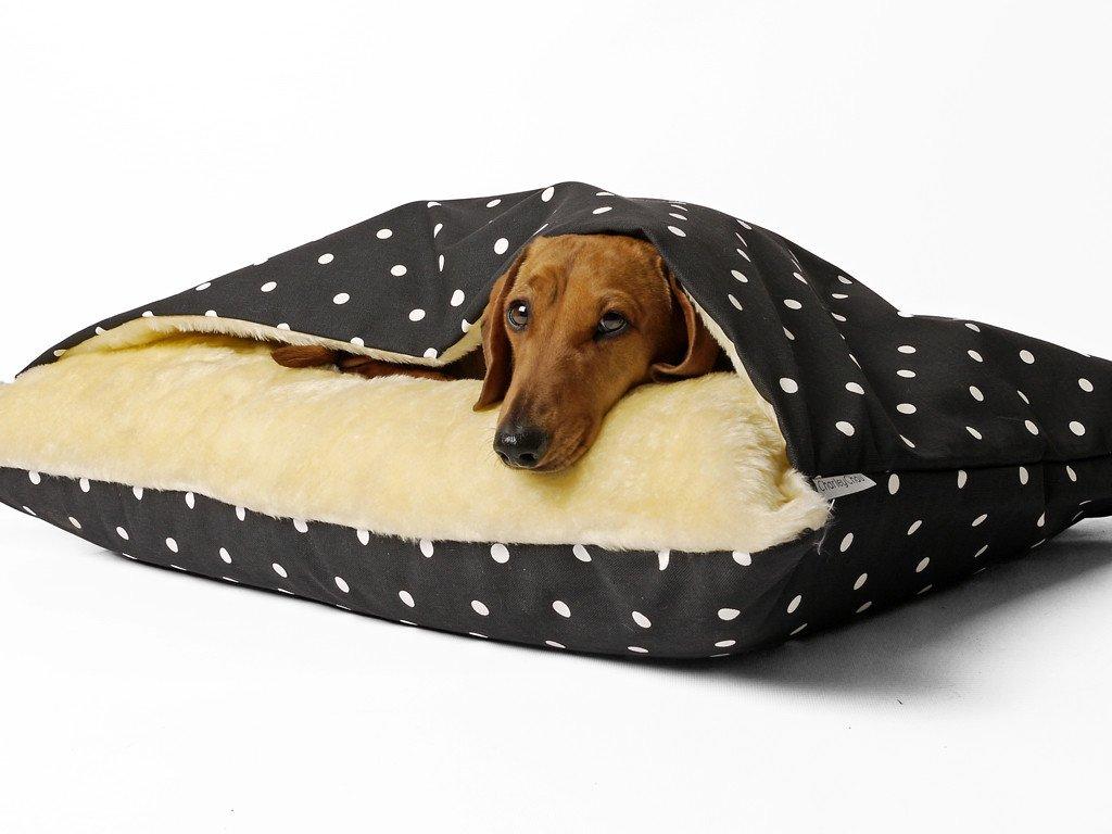 Image result for dog bed sleeping