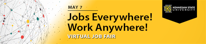 Kennesaw State University Virtual Job Fair Banner