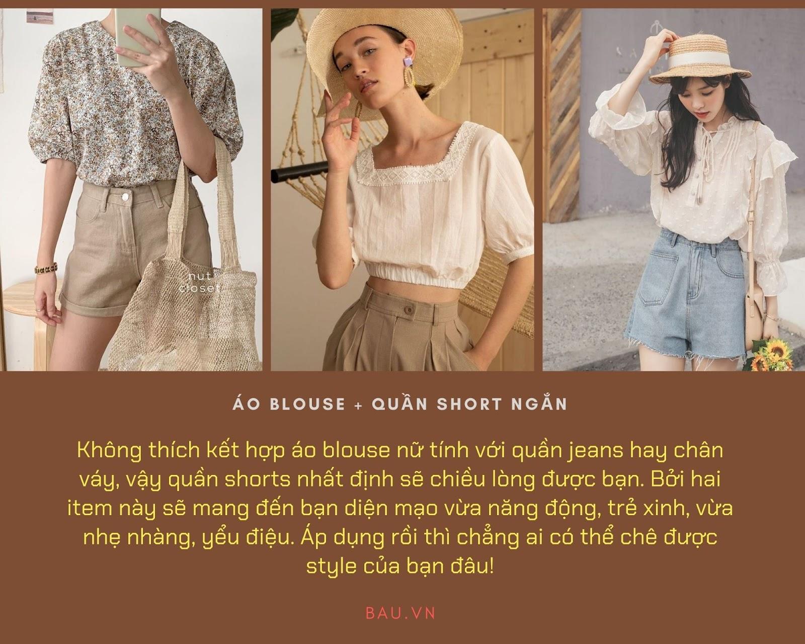 Những tips kết hợp áo blouse cho các cô nàng năng động - ảnh 4