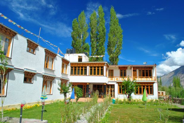 Places to stay on Leh Ladakh Trip