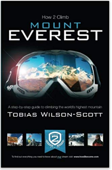 Image of book on how to climb Mount Everest.