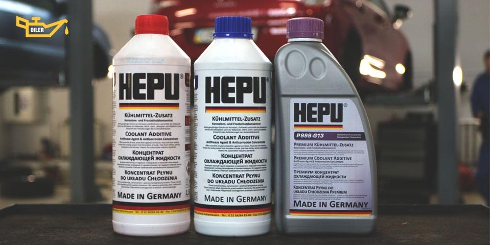 антифризы Hepu
