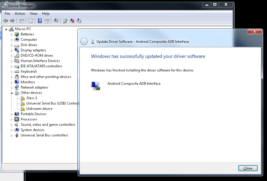 Adb Interface Not Showing In Device Manager