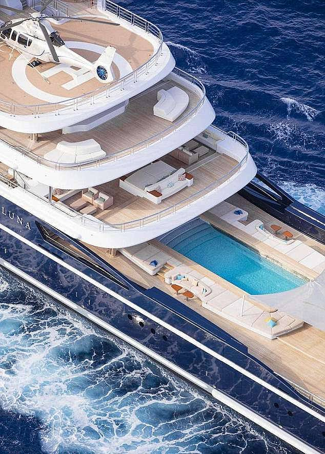 At the centre of the battle was the £225million superyacht - which he was ordered to hand over to his former wife after a judge held he had tried to hide it from her in an 'elaborate' plan to 'evade and frustrate' her by moving the 377ft vessel between an array of offshore companies