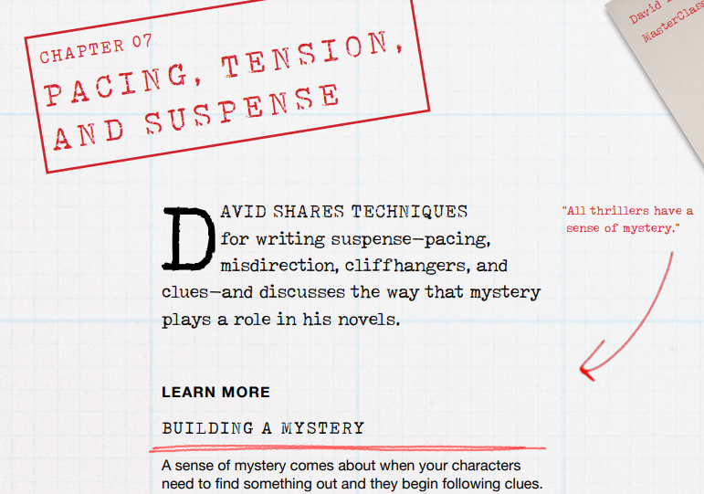 Writing Thrillers Is All About Suspense