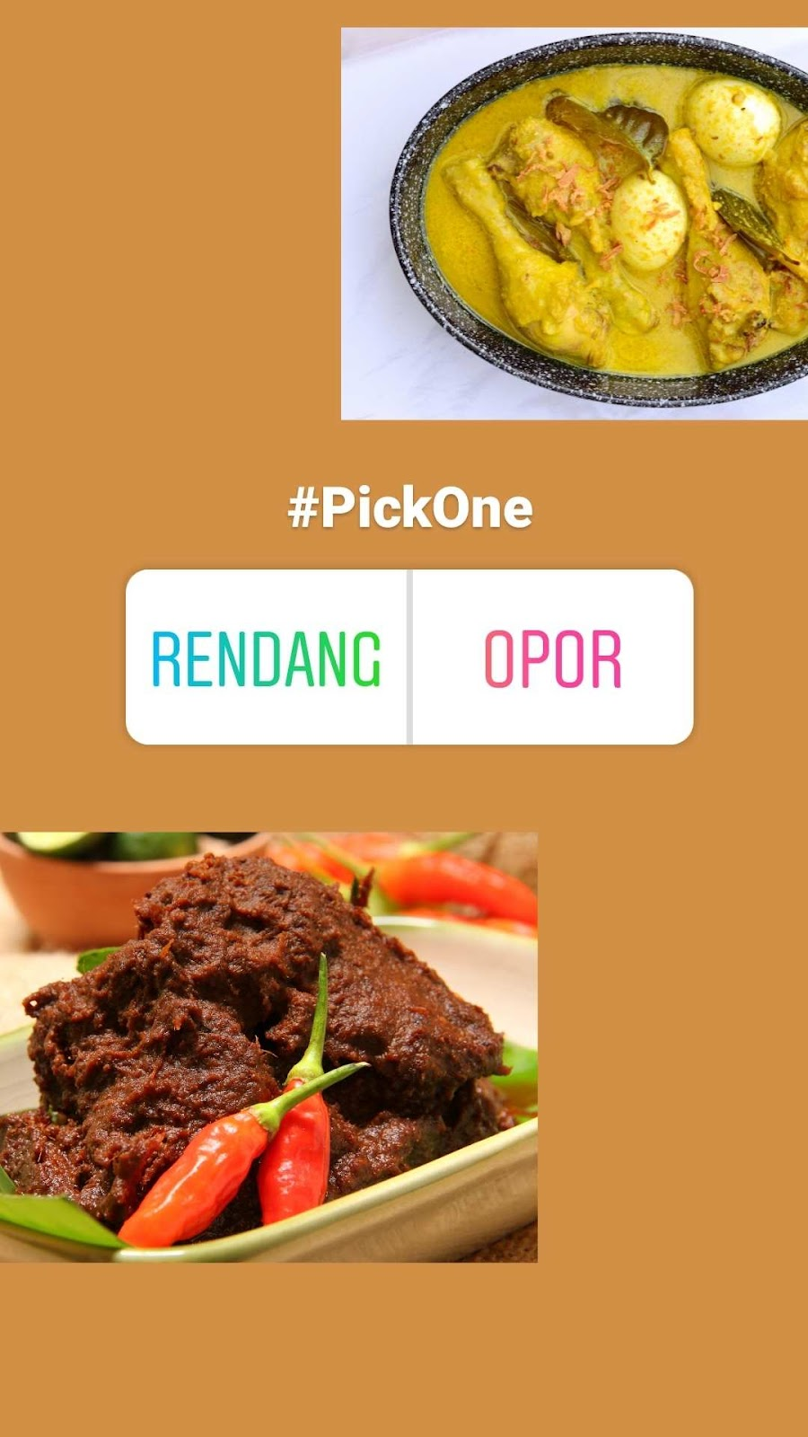 Contoh konten instagram bisnis #PickOne