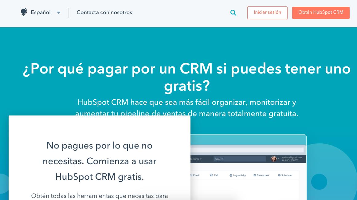 Mejores CRM HubSpot