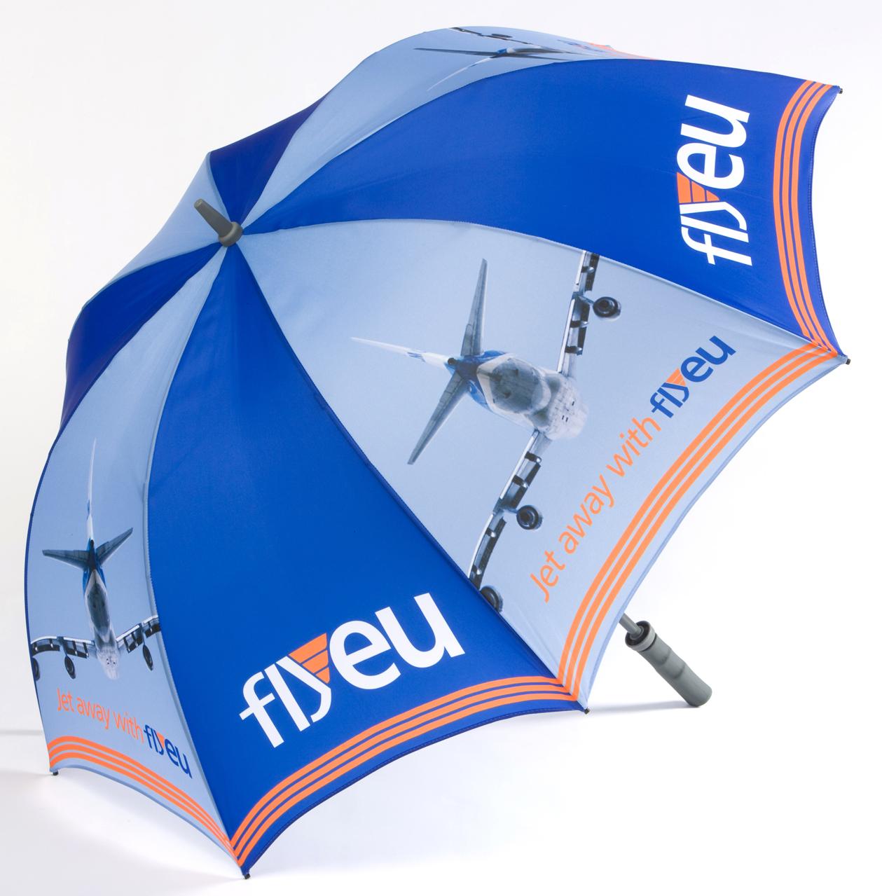 Профессиональная печать логотипов на зонтах – подробности на сайте deksgroup.com