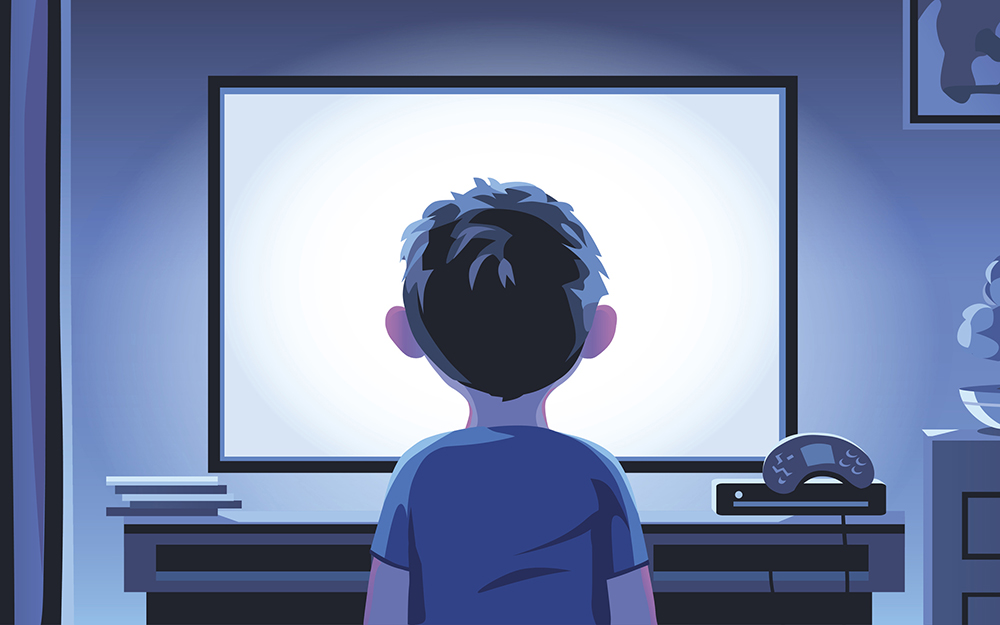 Protecting younger kids from news