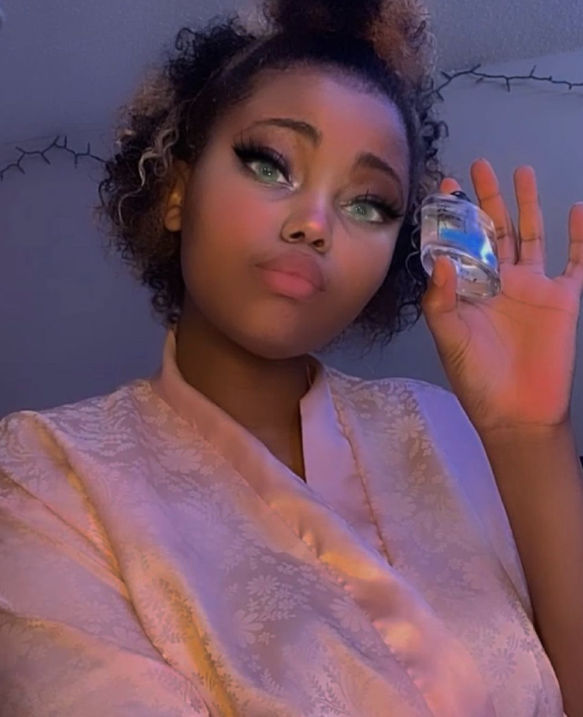 Aleesha Jenoure | Promoting a Beauty Product on Instagram