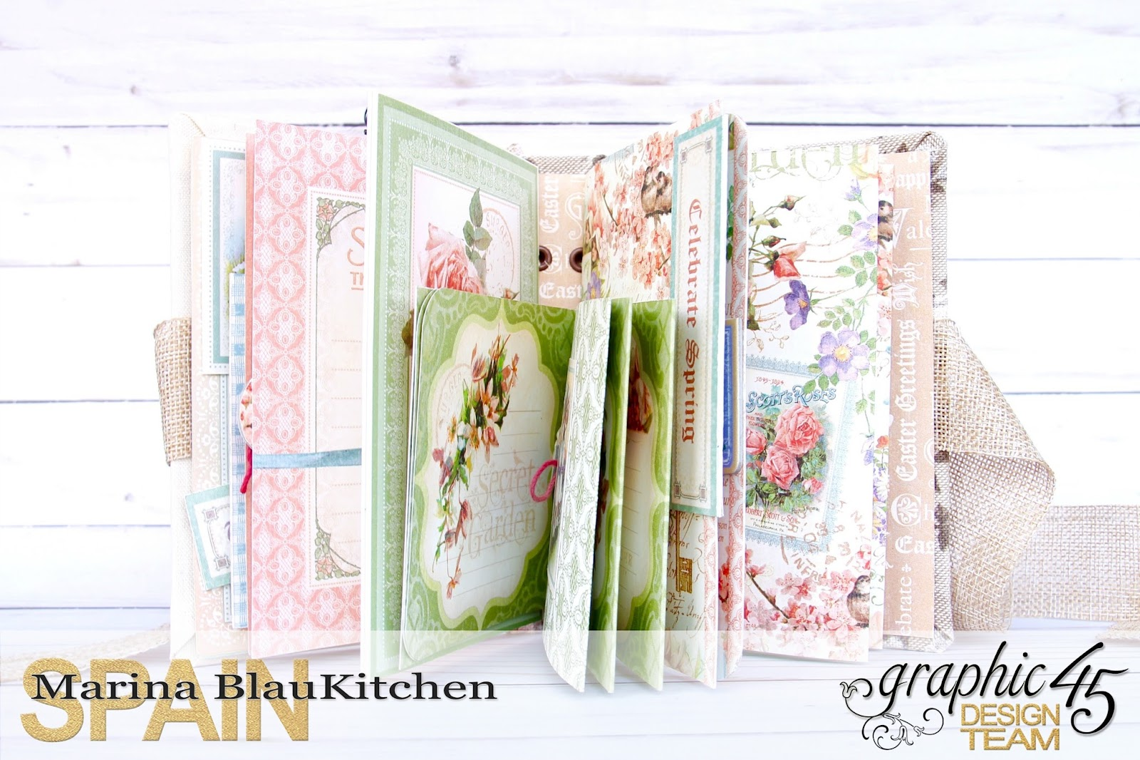 Four seasons Spring Album by Marina Blaukitchen Product by Graphic 45 photo 7.jpg
